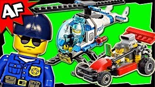 lego city police helicopter transporter 60049 stop motion build review