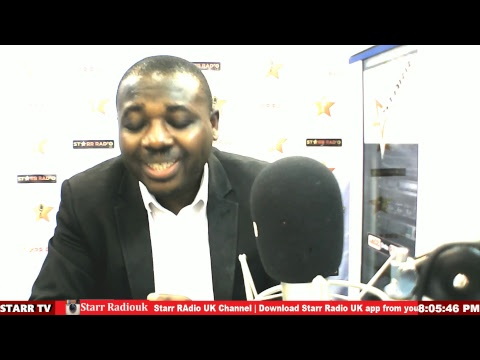 STARR RADIO UK.| The FootPrints with Oscar Bimpong
