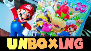 Unboxing Mario Party 10 Bundle on Wii U