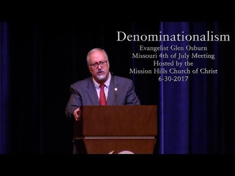Glen Osburn - Denominationalism