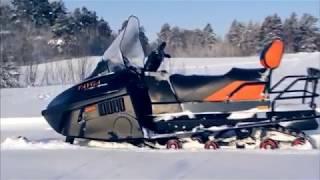 видео снегоход Тайга