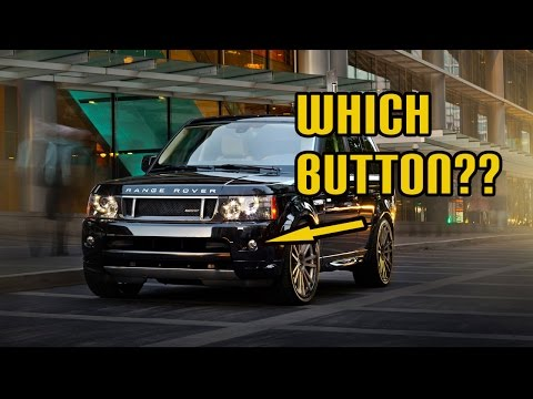 Which Button Is Which? Your Front & Rear Fog Lights Explained - Range Rover Sport