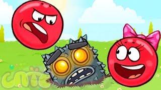 Красный шар 5 серия - Red Ball мультик игра для маленьких детей! игровой мультфильм новые серии 2018