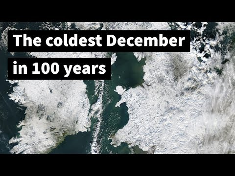 The UK's coldest December in 100 years: December 2010