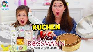 REAL FOOD vs. ROSSMANN - Kuchenteig aus Babypuder?! Geschichten und Spielzeug