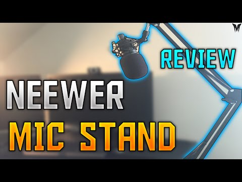 Neewer Mic Stand Review/ Set-Up w/ AT2020 (or Blue Yeti) - $30 Budget
