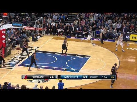 Quarter 4 One Box Video :Timberwolves Vs. Trail Blazers, 1/1/2017 12:00:00 AM