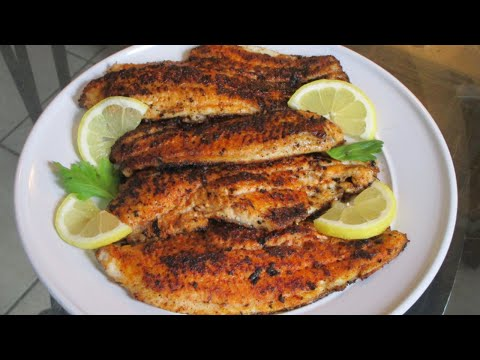 How To Make Louisiana Blackened Catfish