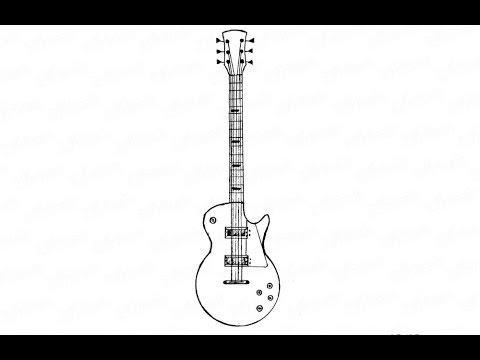 Как нарисовать карандашом рок гитару: инструкция от EvriKak
