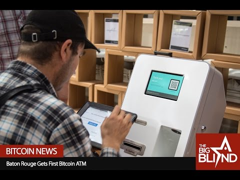Americas Cardroom: Baton Rouge Gets First Bitcoin ATM