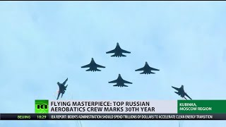 Stunning fighter jet flights by best Russian Air Force aces