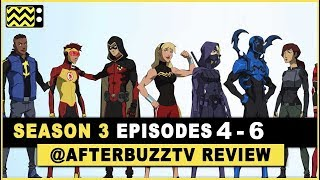 Young Justice Season 3 Episodes 4 - 6 Review & After Show