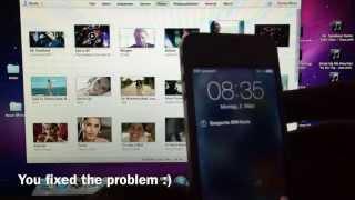 iPhone nach Reparatur findet kein Netz, nur Suchen / iPhone after repair just searching