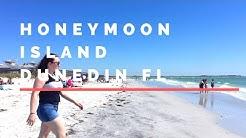 Walk On Honeymoon Island State Park Beach | Dunedin Florida  🏖️