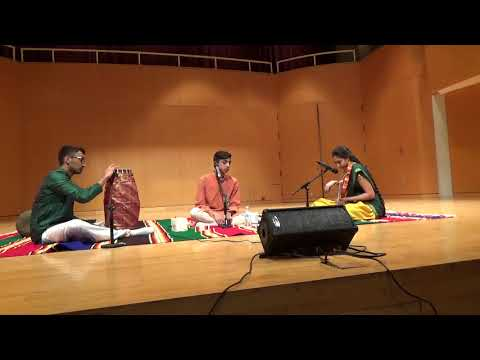 Sashank Cleveland Thyagaraja Aradhana 2018 concert