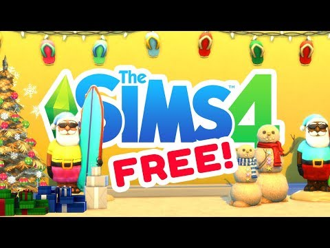 [ FREE ] OFFICIAL CHRISTMAS STUFF! The Sims 4