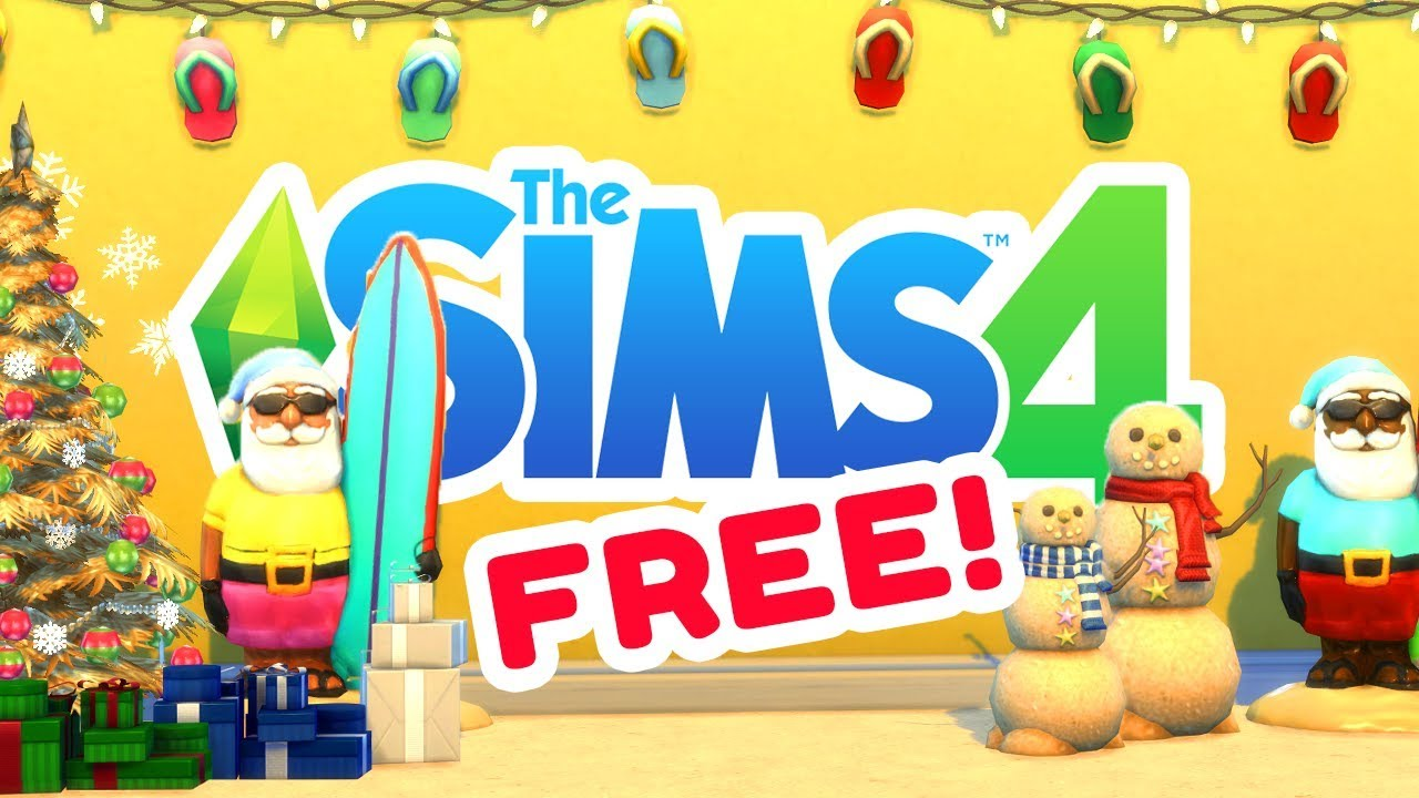 free official christmas stuff the sims 4