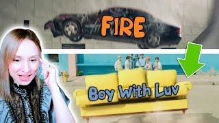 МОЙ ФАВОРИТ В КЛИПЕ :) BTS - BOY WITH LUV feat HALSEY ОБЗОР-РЕАКЦИЯ | KPOP ARI RANG