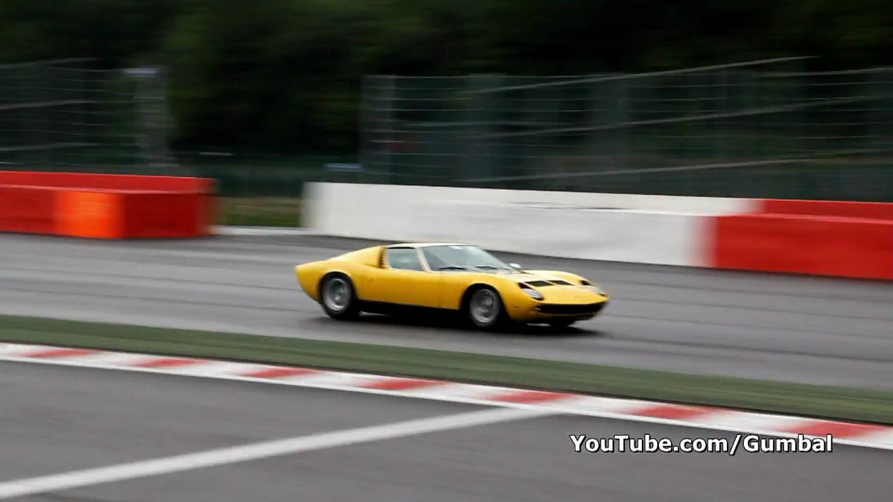 Lamborghini Miura P400 S Awesome Sound 1080p Hd Youtube