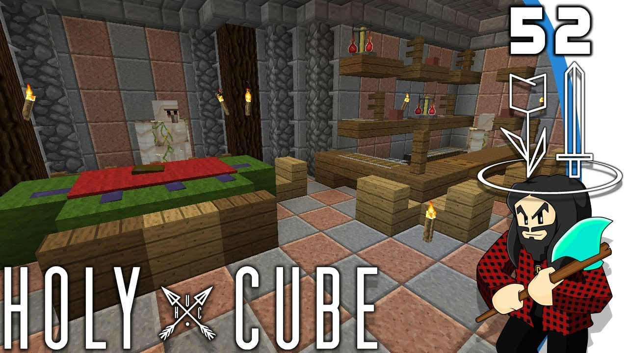 minecraft holycube iii 52 jeu sex et alcool youtube. Black Bedroom Furniture Sets. Home Design Ideas