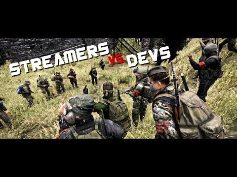 STREAMERS vs DEVS! - DayZ 0.62