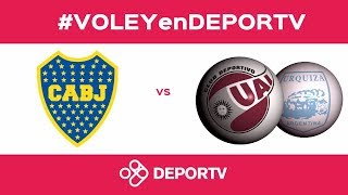 #VOLEYenDEPORTV - VIVO - Semifinal Metro - UAI - Boca