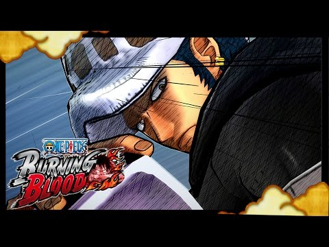 One Piece Burning Blood - Trafalgar Law GAMEPLAY Online Ranked Match!