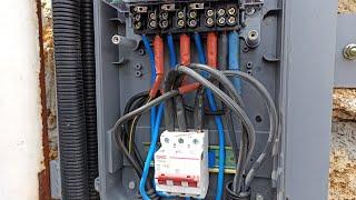 Подключение СИП провода к электросчётчику и автомату(, 2019-01-06T12:31:45.000Z)