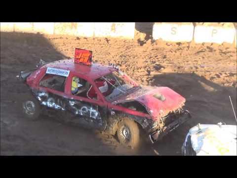 Demolition Derby *CRASHTOBERFEST1* Salina Speedway 10-15-16 (Bone Stock)