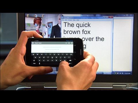 Cara Membuat Mouse Dan Keyboard Komputer Dari Android