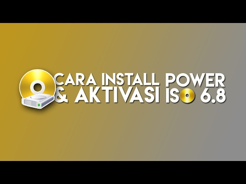 Cara Install dan Aktivasi PowerISO 6.8