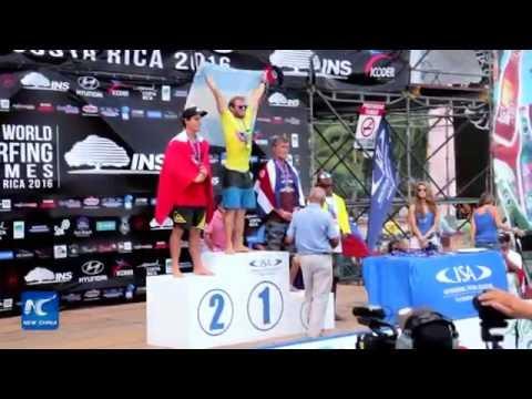 Peru grabs team gold in ISA World Surfing Games in Costa Rica