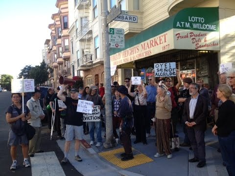 Class War In SF North Beach: Evictions = Death