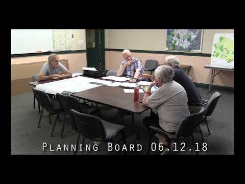 Planning Board 06.12.18