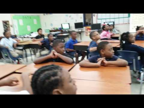 Learning Force through rap with 3rd grade