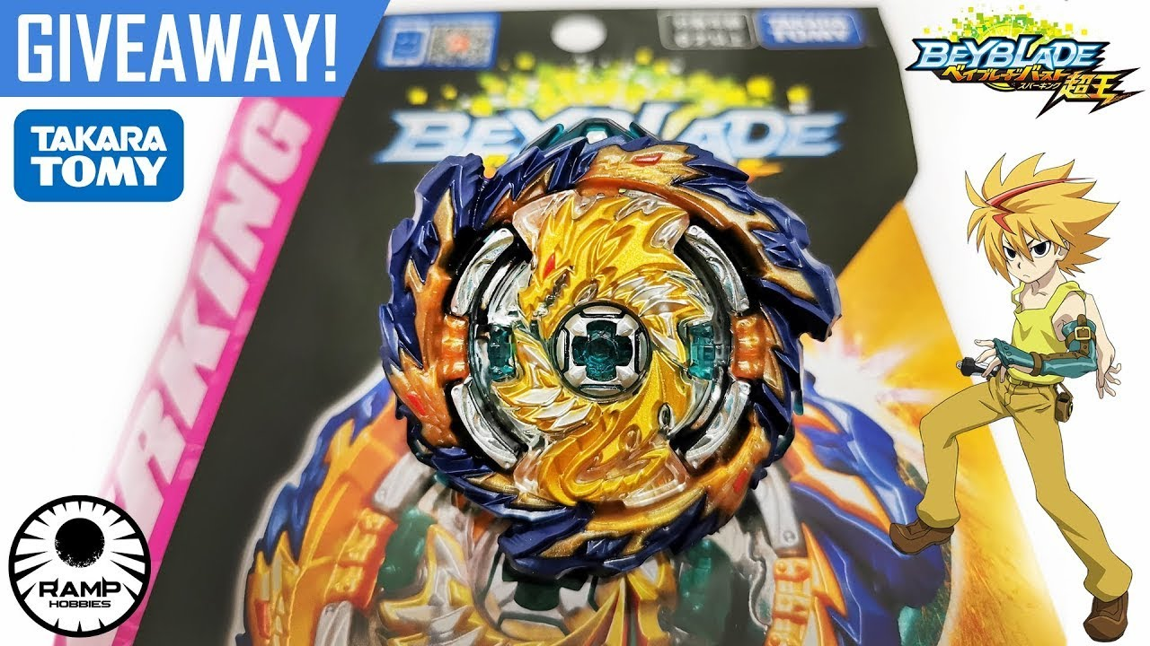 Mirage Fafnir Giveaway Winner! Beyblade Burst Superking/ Sparking