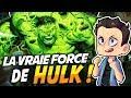LA VRAIE FORCE DE HULK ??!!