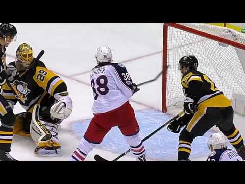 NHL : Stanley Cup : Pittsburgh Penguins vs Columbus Blue Jackets : 04/20/2017 : (5-2) :News :Sports