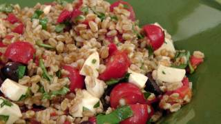 Italian Farro Salad Recipe - By Laura Vitale - Laura In The Kitchen Episode 122