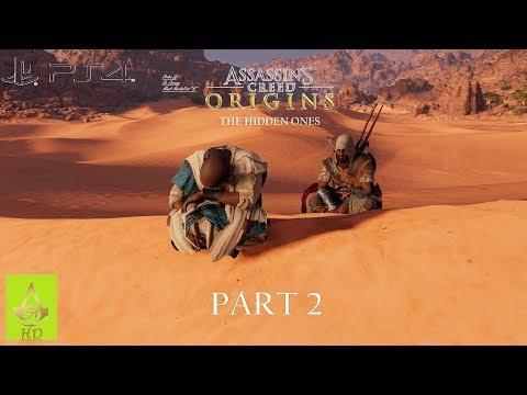 Assassin's Creed: Origins The Hidden Ones [ PS4 ] - Walkthrough Part 2 | Nightmare Mode | 100%
