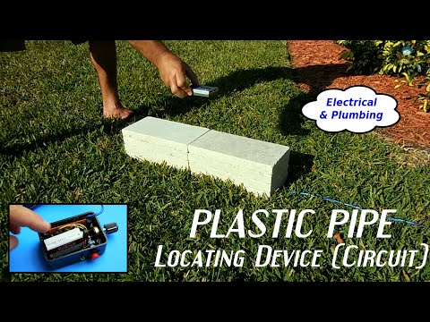 Homemade Electronic Plastic Pipe Locating Device(Circuit)