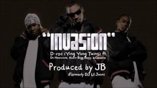 Download Invasion - D-Roc of Ying Yang Twins, Da Muzicianz, Kuzin Bigg Boy, & Geeskie MP3 song and Music Video