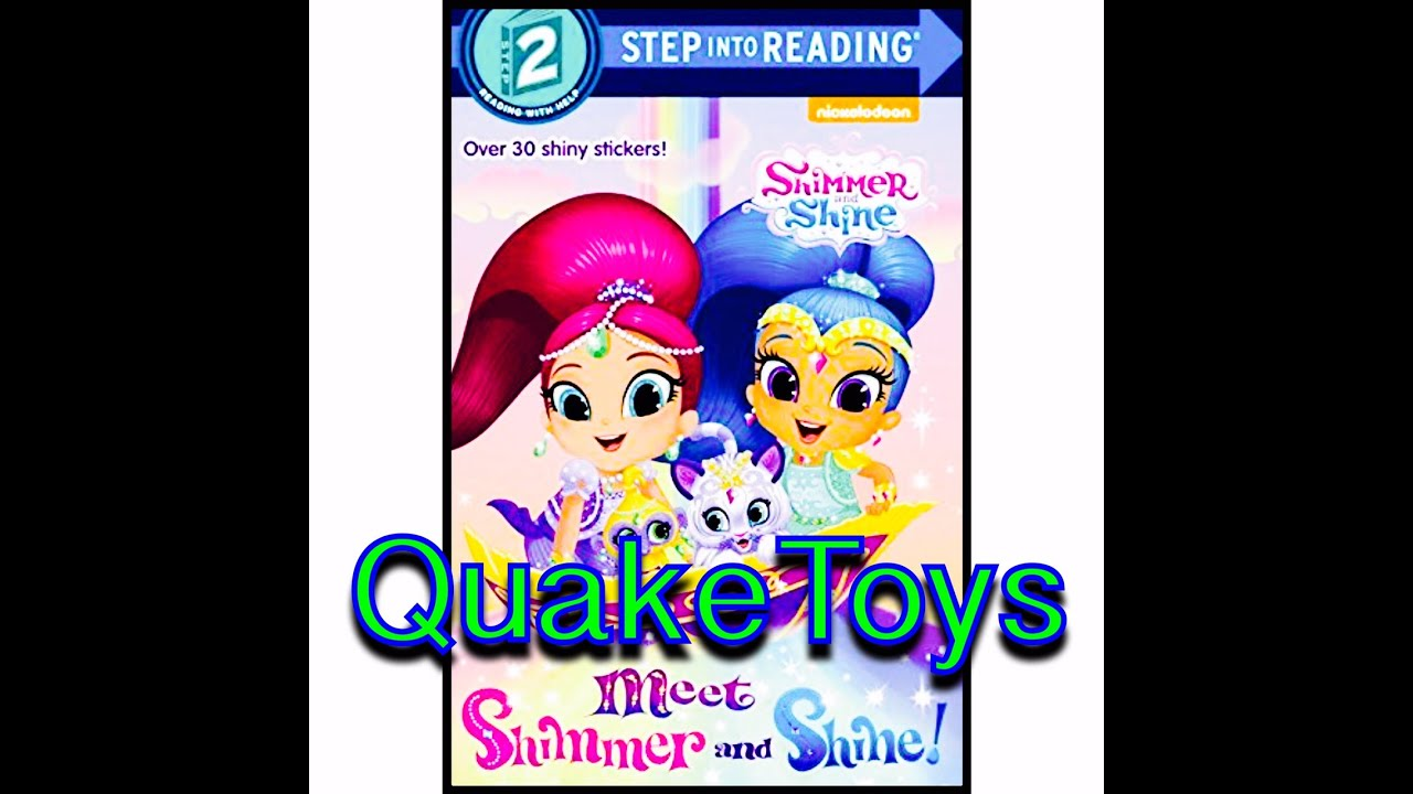 QuakeToys Story Time New Shimmer and Shine Book Nick Jr Meet The ...