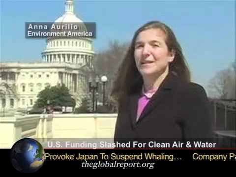 U.S. Funding Slashed For Clean Air & Water