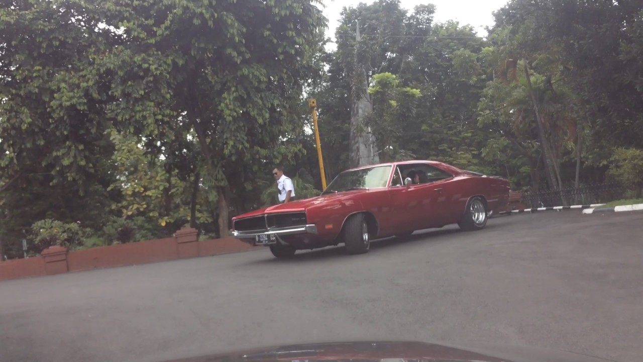 Muscle Car Indonesia Dodge Charger 1968 Youtube