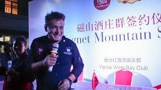 Carlos López en Yantai - República Popular de China