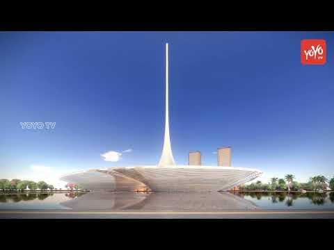 Amaravati, Spike Option for Legislature Design   Andhra Pradesh Assembly Design   YOYO TV Channel