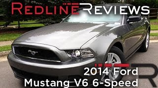2014 Ford Mustang V6 6-Speed Review, Walkaround, Exhaust & Test Drive(, 2013-07-01T11:35:30.000Z)