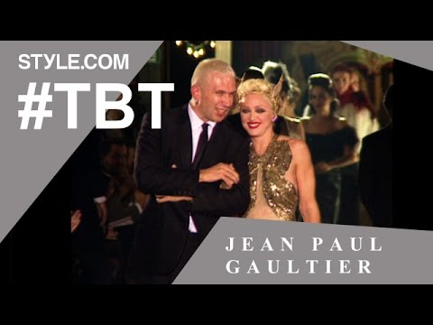 Madonna Hits the Runway at Jean Paul Gaultier - #TBT with Tim Blanks - Style.com