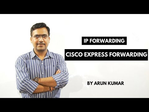 Cisco Express Forwarding CEF in Hindi    IP Forwarding Part -3    Arun Kumar    Cisco trainer